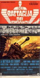 Battle of the Bulge - Italian Movie Poster (xs thumbnail)