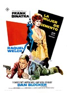 Lady in Cement - Spanish Movie Poster (xs thumbnail)