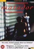 Matador - British DVD cover (xs thumbnail)