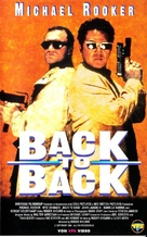Back to Back - German VHS cover (xs thumbnail)