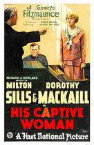 His Captive Woman - Movie Poster (xs thumbnail)