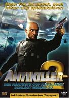 Antikiller 2: Antiterror - German DVD cover (xs thumbnail)