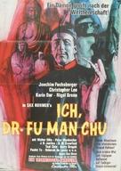 The Face of Fu Manchu - German Movie Poster (xs thumbnail)