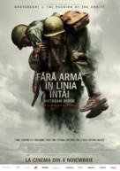 Hacksaw Ridge - Romanian Movie Poster (xs thumbnail)