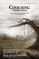 The Conjuring - Swiss Movie Poster (xs thumbnail)