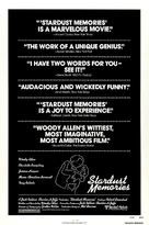 Stardust Memories - Movie Poster (xs thumbnail)