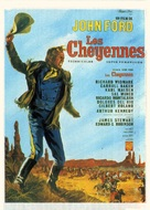 Cheyenne Autumn - French Movie Poster (xs thumbnail)