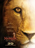 The Chronicles of Narnia: The Voyage of the Dawn Treader - Italian Movie Poster (xs thumbnail)