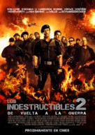 The Expendables 2 - Peruvian Movie Poster (xs thumbnail)