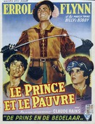 The Prince and the Pauper - Belgian Movie Poster (xs thumbnail)
