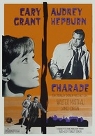 Charade - Swedish Movie Poster (xs thumbnail)
