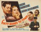 Fifty Roads to Town - Movie Poster (xs thumbnail)