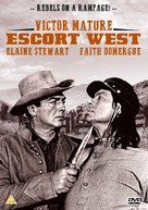 Escort West - British DVD cover (xs thumbnail)