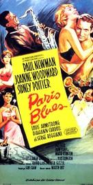 Paris Blues - Movie Poster (xs thumbnail)