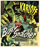 The Body Snatcher - Blu-Ray cover (xs thumbnail)