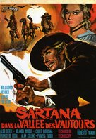 Sartana nella valle degli avvoltoi - French Movie Poster (xs thumbnail)