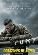 Fury - Spanish Movie Poster (xs thumbnail)