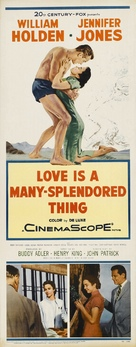 Love Is a Many-Splendored Thing - Movie Poster (xs thumbnail)