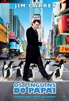 Mr. Popper's Penguins - Brazilian Movie Poster (xs thumbnail)