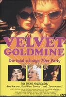 Velvet Goldmine - German Movie Cover (xs thumbnail)