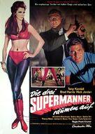 I fantastici tre supermen - German Movie Poster (xs thumbnail)