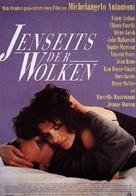 Al di là delle nuvole - German Movie Poster (xs thumbnail)