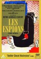 Les espions - British DVD movie cover (xs thumbnail)