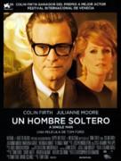 A Single Man - Spanish Movie Poster (xs thumbnail)