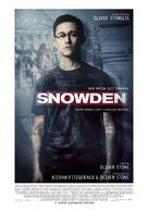 Snowden - Finnish Movie Poster (xs thumbnail)