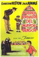 The Private War of Major Benson - Spanish Movie Poster (xs thumbnail)