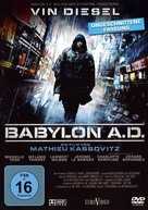 Babylon A.D. - German DVD cover (xs thumbnail)