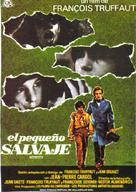 L'enfant sauvage - Spanish Movie Poster (xs thumbnail)