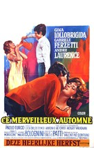 Un bellissimo novembre - Belgian Movie Poster (xs thumbnail)