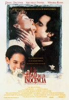 The Age of Innocence - Spanish Movie Poster (xs thumbnail)
