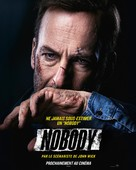 Nobody - French Movie Poster (xs thumbnail)