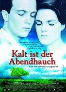 Kalt ist der Abendhauch - German poster (xs thumbnail)