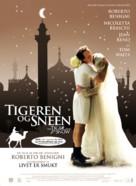 Tigre e la neve, La - Danish Movie Poster (xs thumbnail)