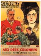 Aux deux colombes - French Movie Poster (xs thumbnail)