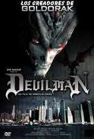 Devilman - Spanish DVD cover (xs thumbnail)