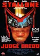 Judge Dredd - Danish Movie Cover (xs thumbnail)