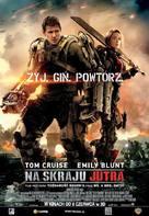 Live Die Repeat: Edge of Tomorrow - Polish Movie Poster (xs thumbnail)