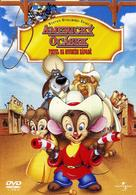 An American Tail: Fievel Goes West - Czech DVD movie cover (xs thumbnail)