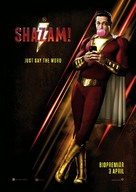 Shazam! - Swedish Movie Poster (xs thumbnail)