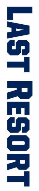 """Last Resort"" - Logo (xs thumbnail)"