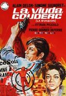 Veuve Couderc, La - Spanish Movie Poster (xs thumbnail)
