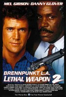 Lethal Weapon 2 - German Movie Poster (xs thumbnail)