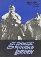 El ataque de los muertos sin ojos - German poster (xs thumbnail)
