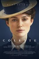 Colette - Swedish Movie Poster (xs thumbnail)