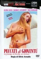 Peccati di gioventù - Italian DVD cover (xs thumbnail)