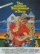 The Best Little Whorehouse in Texas - German Movie Poster (xs thumbnail)